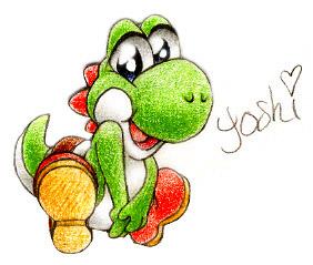 Yoshi by JA-punkster
