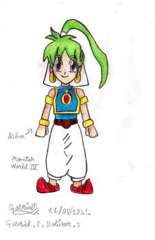Monster World IV Asha