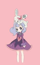 bunny girl #01 by Nadeshyn