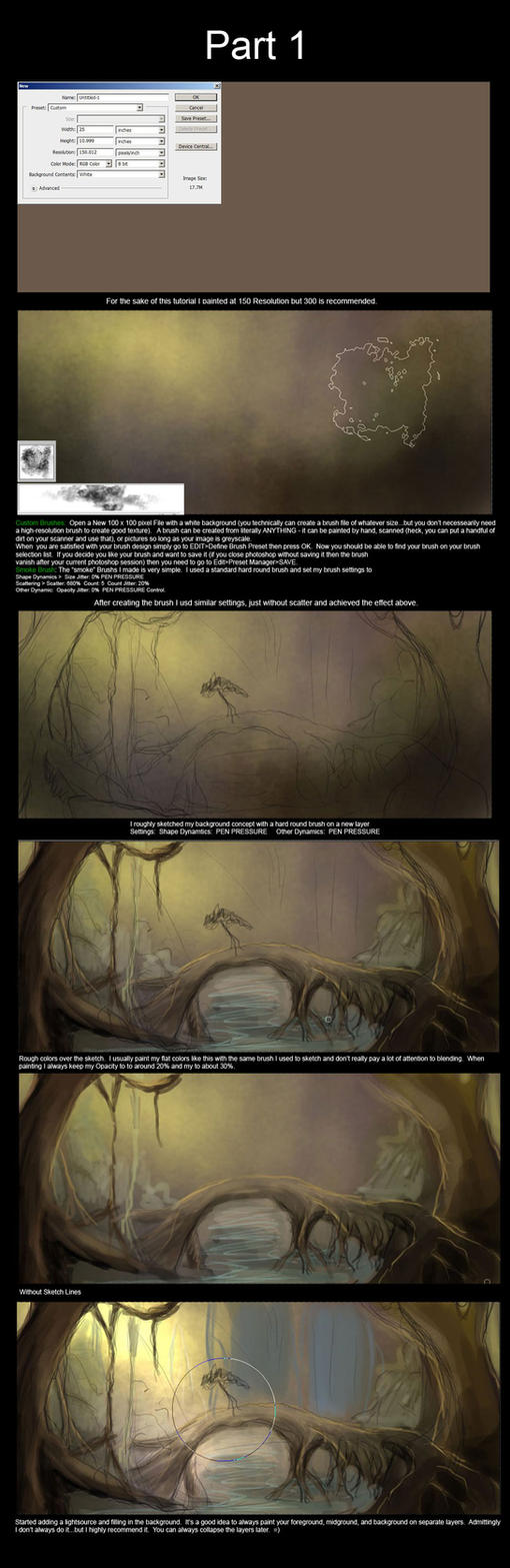 Forest Tutorial Part 1 by Lunar-lce