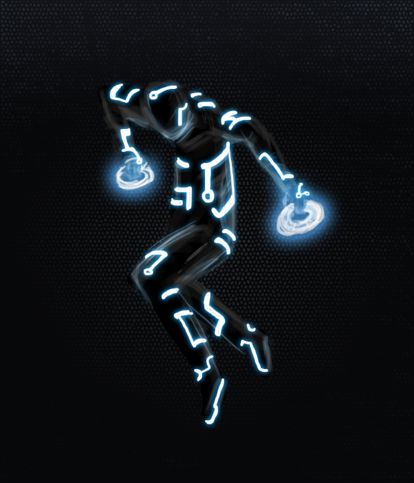 TRON MODE by AtomicWarpin