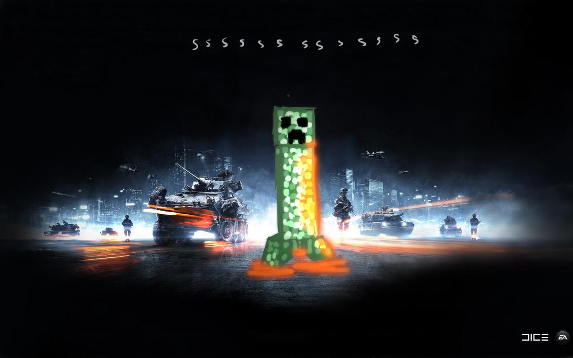 Creeper Battlefield Wallpaper By AtomicWarpin On DeviantArt