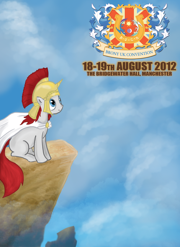 BUCK bronycon 2012 UK poster by AtomicWarpin