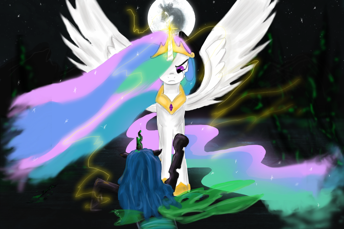 Celestia's wrath, alternative. by AtomicWarpin