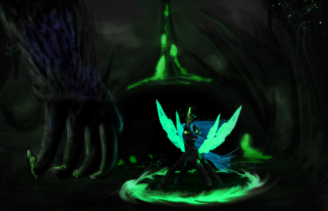 Stay away from my changelings by AtomicWarpin