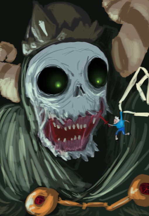 All shall fall to the Lich - Adventure time! by AtomicWarpin