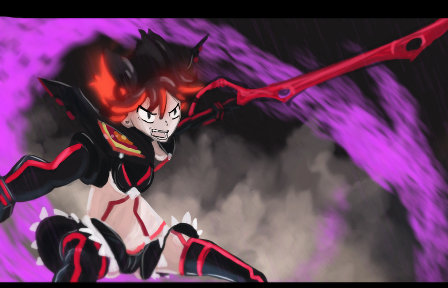 Kill La Kill by AtomicWarpin