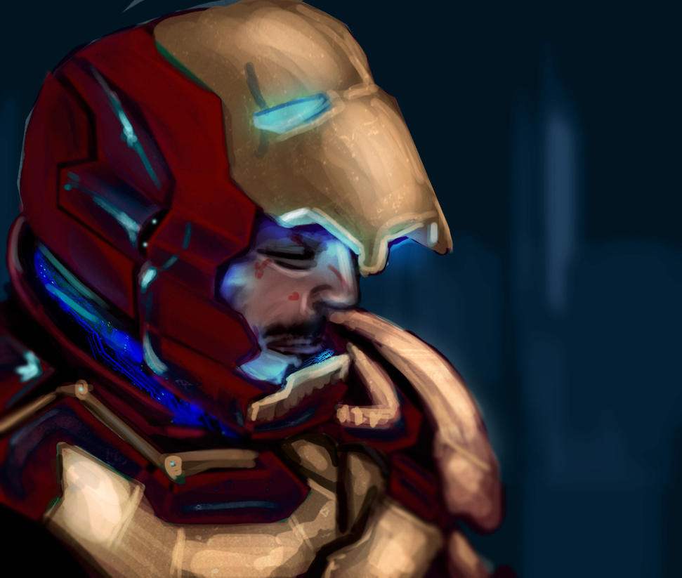 Iron man 3 by AtomicWarpin