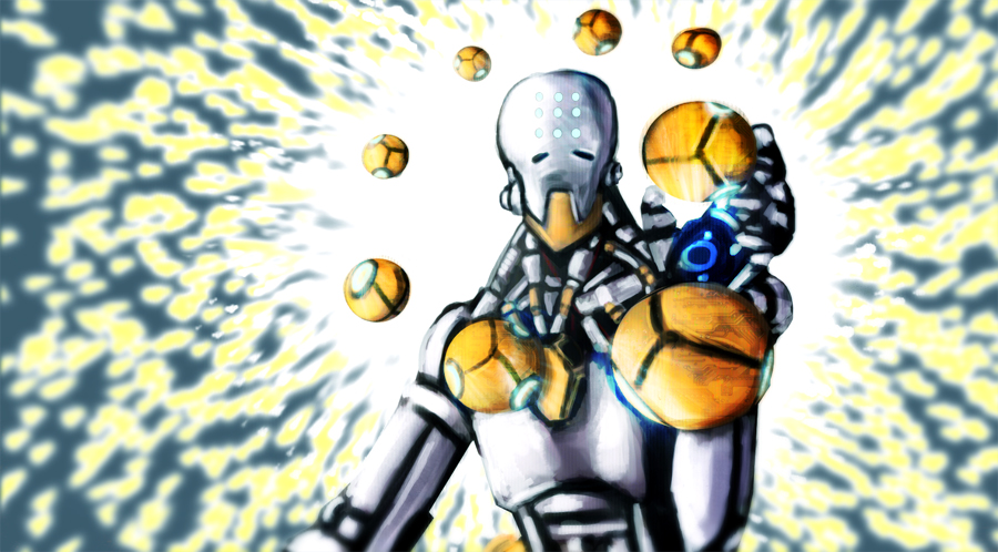 First Zenyatta by AtomicWarpin