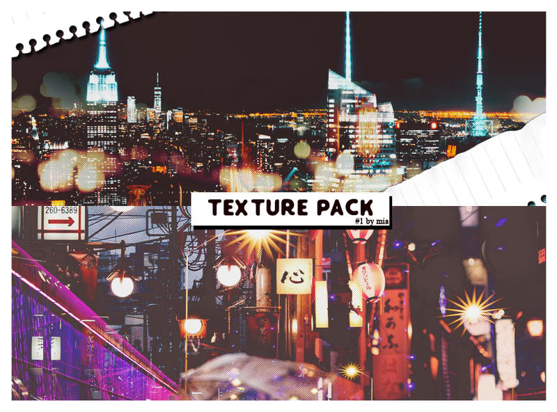 [TEXTURE PACK] #1 by wtmmia by wtmmia