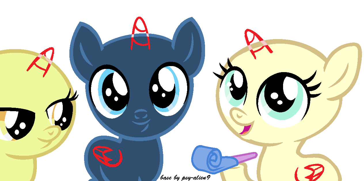 mlp base foals tiny pastel pocky bases deviantart pinkie favourites