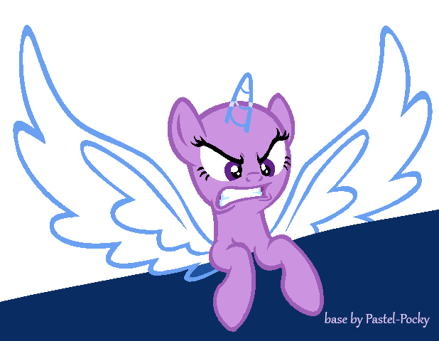 Say What?! - MLP Base by Pastel-Pocky