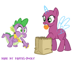 Spike stealing your food - MLP Base