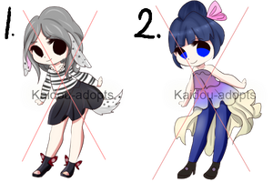 [CLOSED] Adoptable Batch 01 by Kaidou-adopts