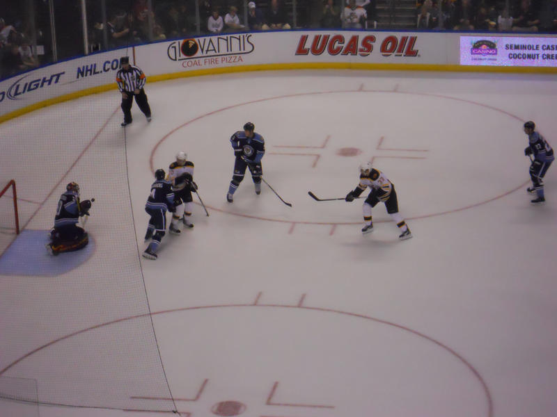 Panthers hockey game by toosweet2lastx