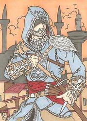 Ezio Auditore Revelations SC by Elvatron