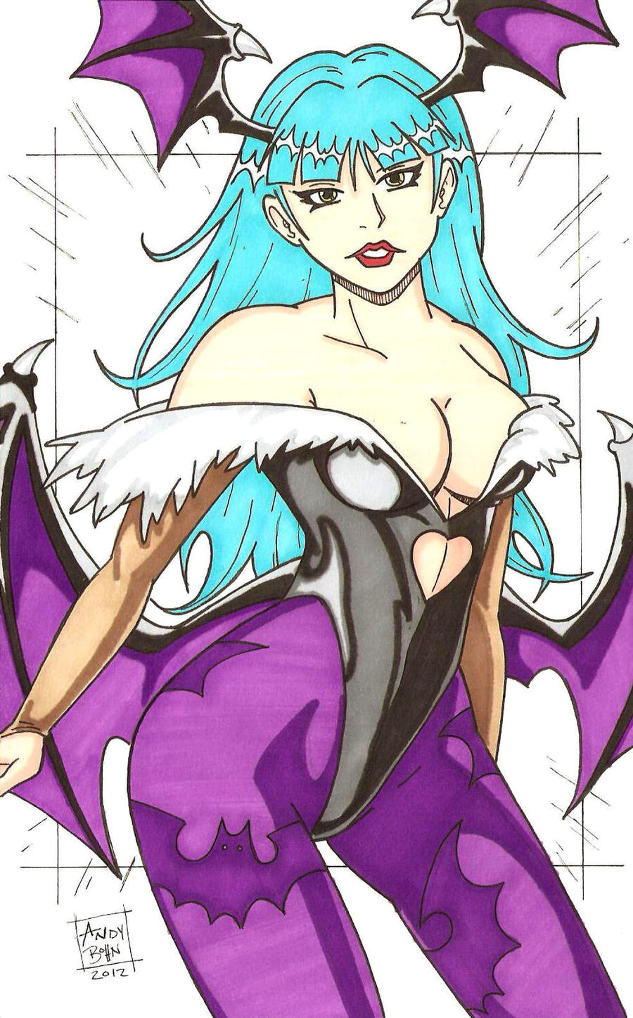 Morrigan Aensland by Elvatron
