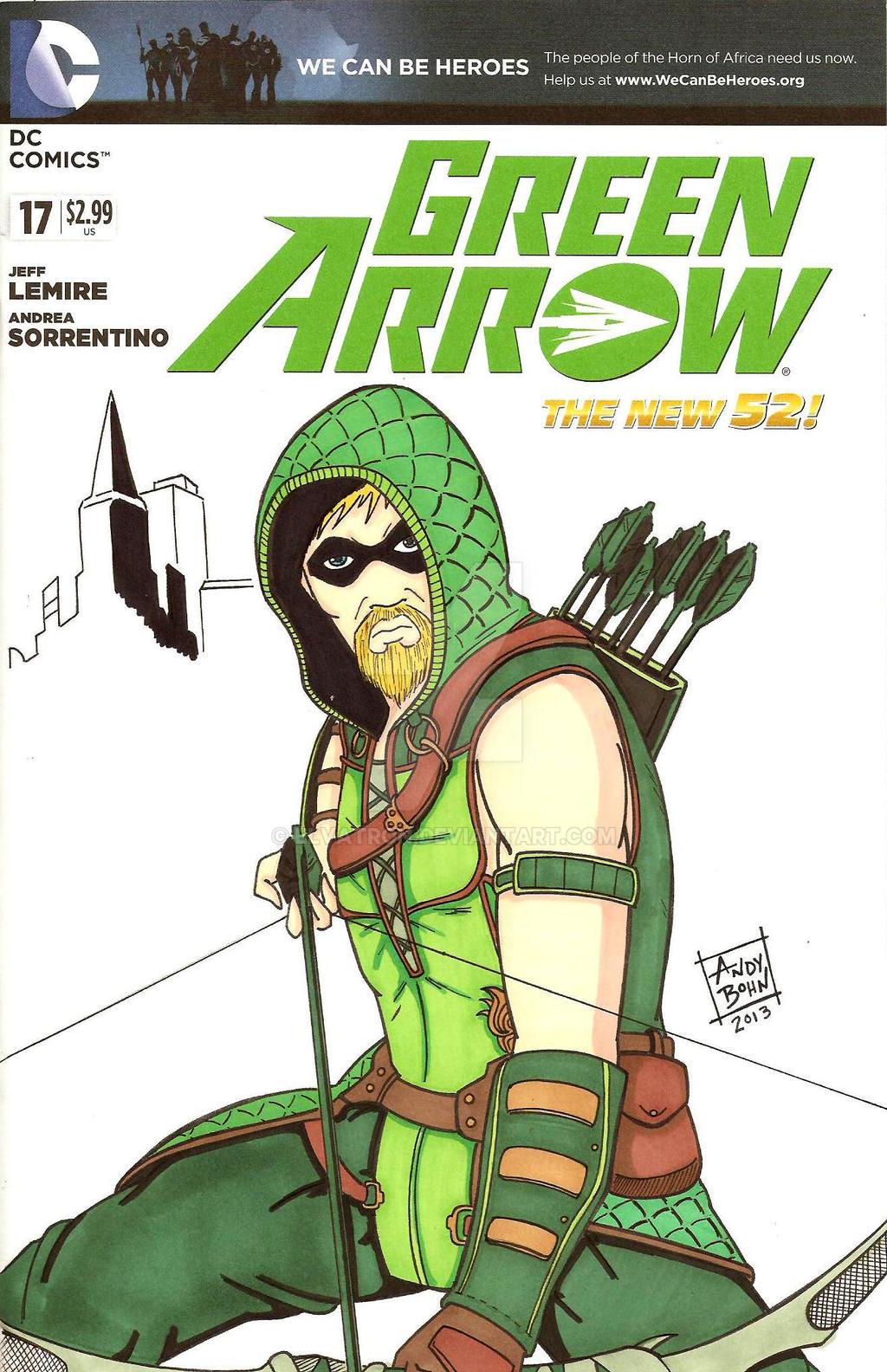 Injustice Green Arrow by Elvatron