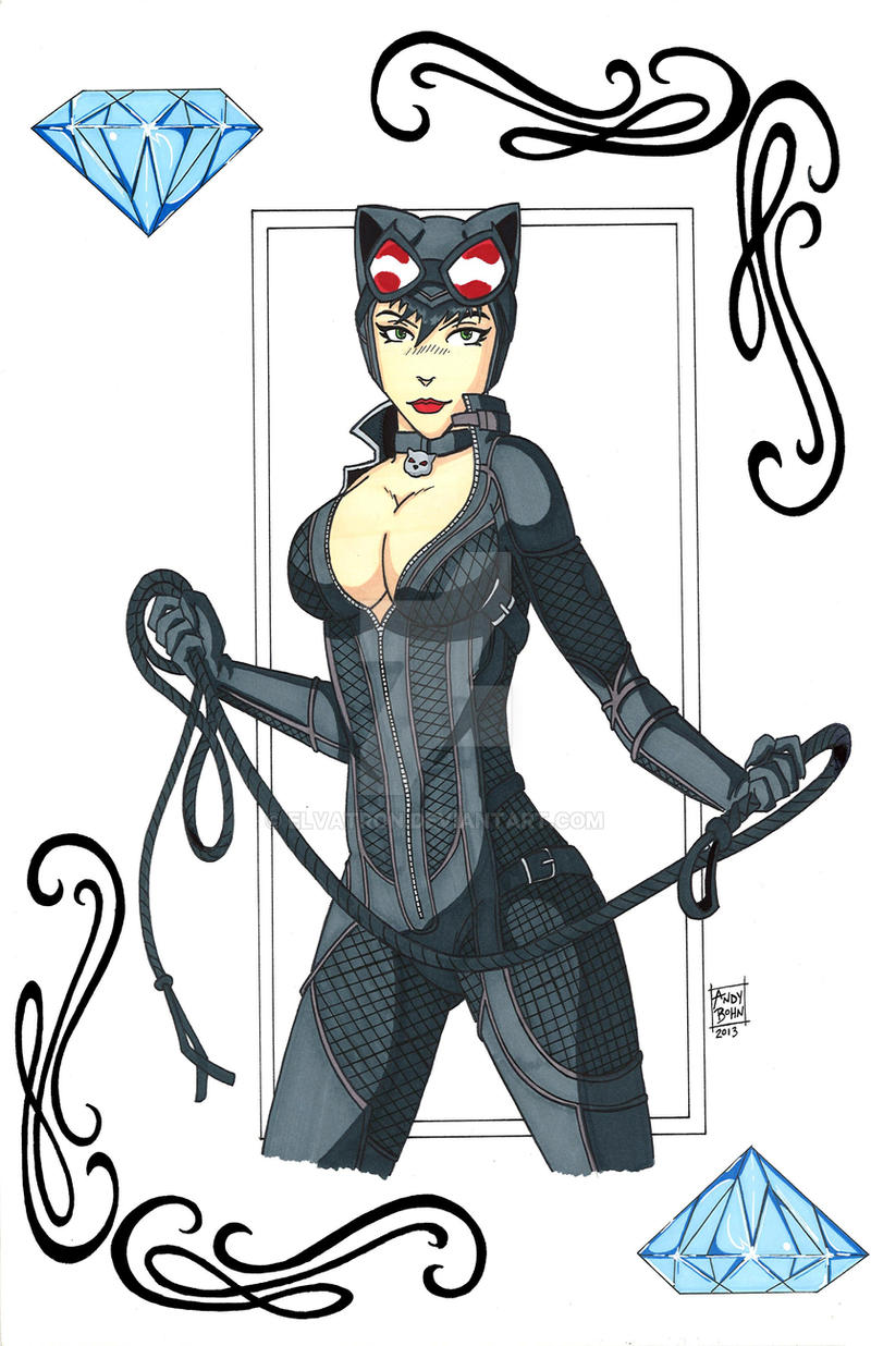 Catwoman by Elvatron