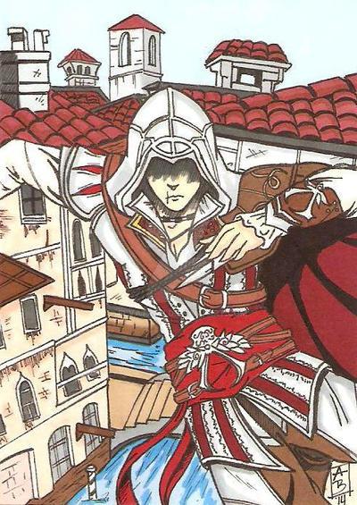 Ezio Auditore by Elvatron