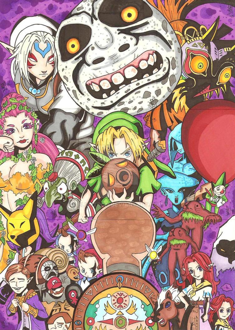 Majora's Mask Puzzle by Elvatron