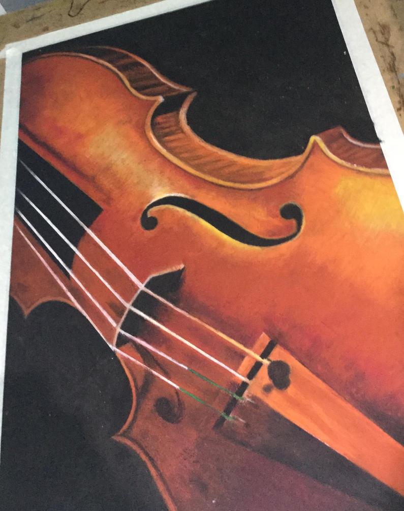 Violin Work in Progress by MichaelTroeung