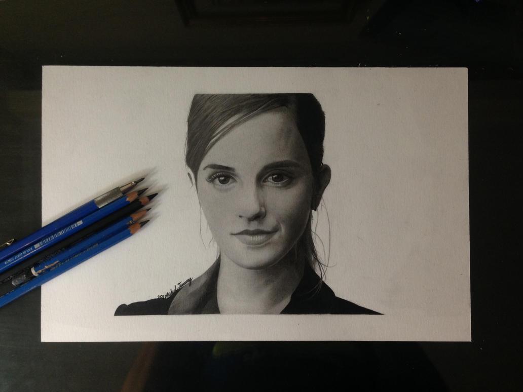 Emma Watson Drawing by MichaelTroeung