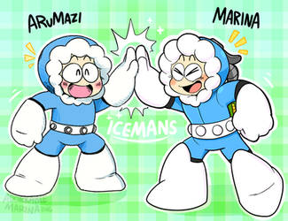 ICEMAN Styles! by AdorkableMarina