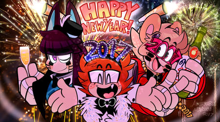 Goodbye, 2016- HELLO 2017 !!! by AdorkableMarina