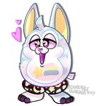 Tattletail OC YCH- Classic Standing by AdorkableMarina