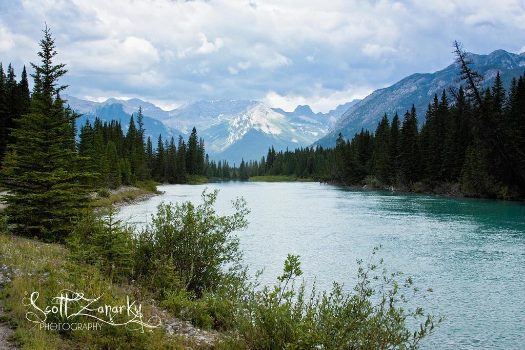 Banff Alberta by Zanarky