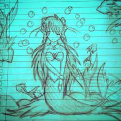 Mermaid by BlackWhiteMonster