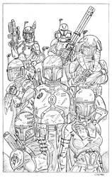 Rover Mandalorians by cajunthief