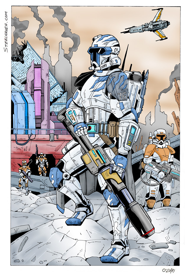 Republic Commando by cajunthief