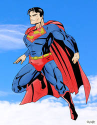 Superman by cajunthief