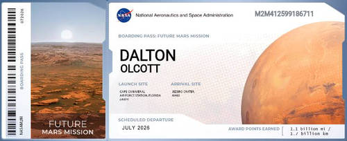my name is HEADED TO MARS BABY!!!!!