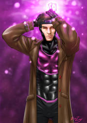 Gambit, full superhero outfit.  by Boylux