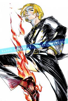 Happy birthday, Sanji! [2016]