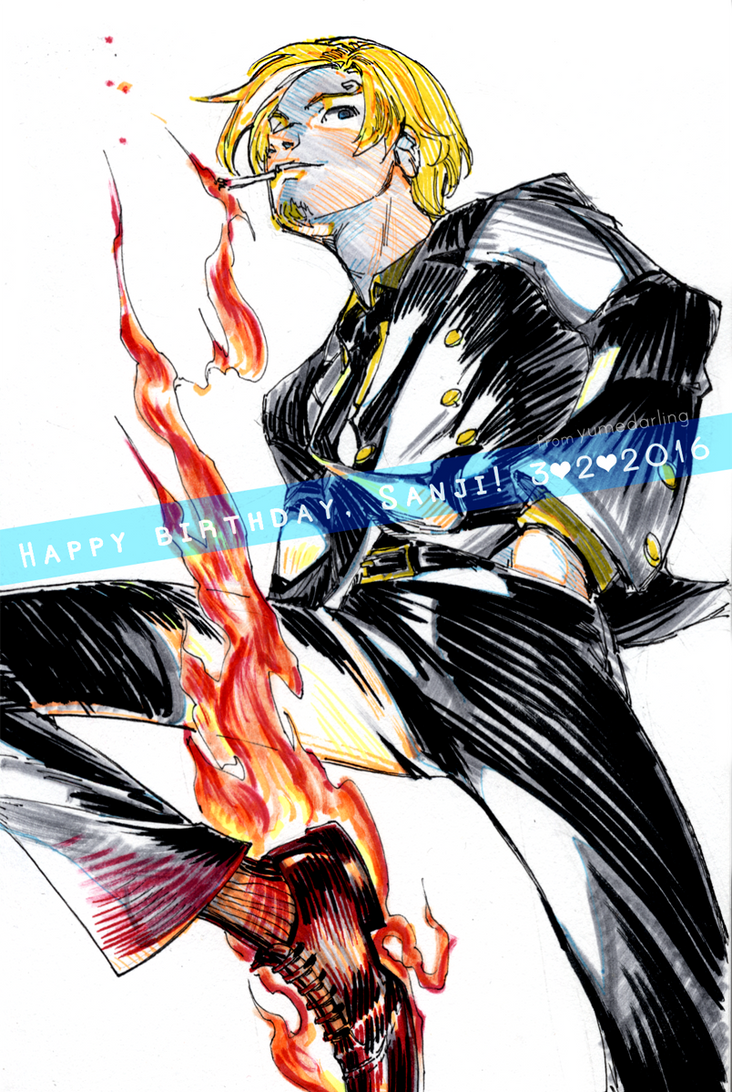 Happy birthday, Sanji! [2016] by yume-darling
