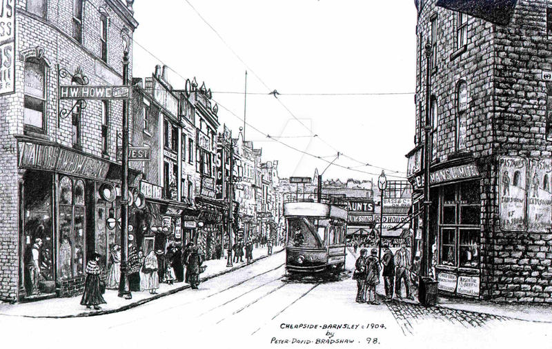 Barnsley Cheepside By Peterdavidbradshaw On DeviantArt
