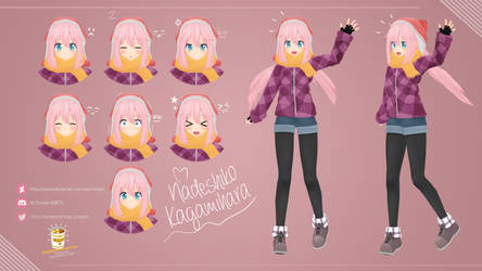 Nadeshiko Kagamihara by AcChosen by AcChosen