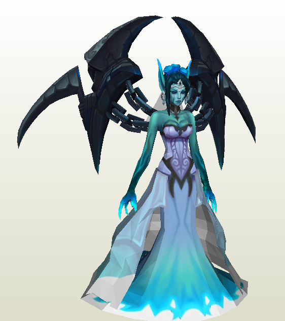 Morgana Gosth Bride League of legends by zhefiroth on ...