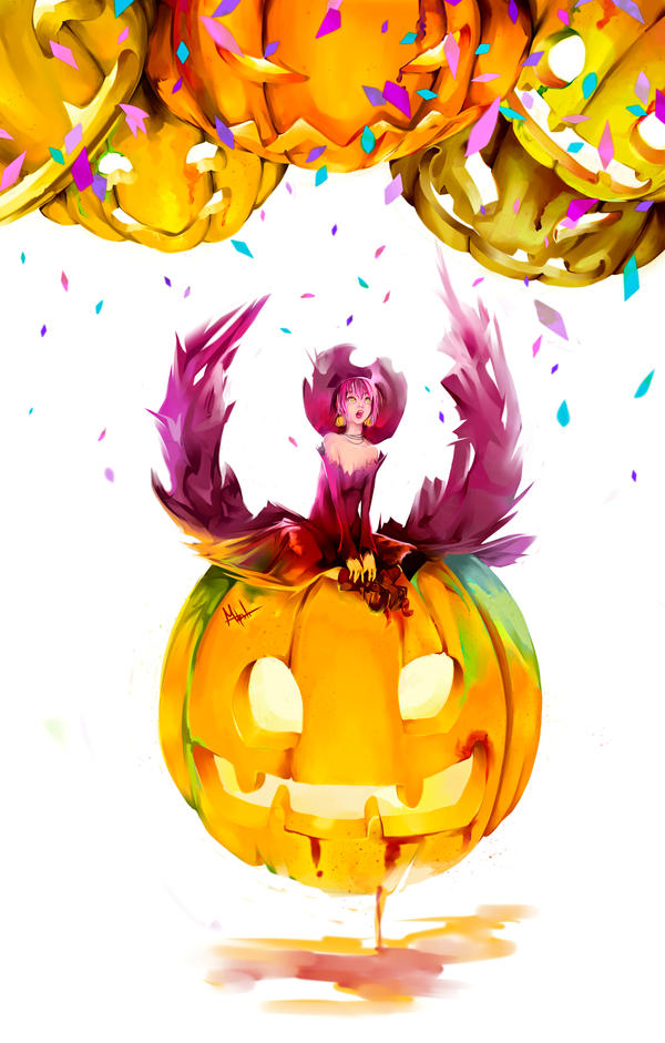Pumpkin party by DarkMusli