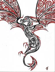 Dragon Design by Go-a-Green-a