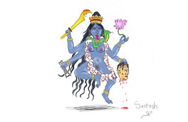Kali Devi by Kali-Dass