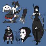 Goth Baddies Females Ref