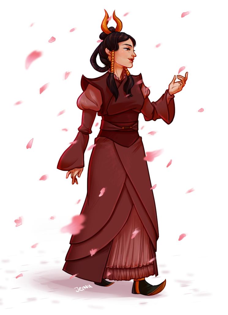 Commission: Fire Avatar 1 by jeinu on DeviantArt