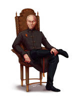 Commission: Tywin Lannister by jeinu