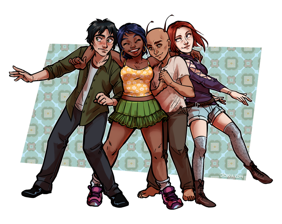 Commission: Demeter + Company by jeinu