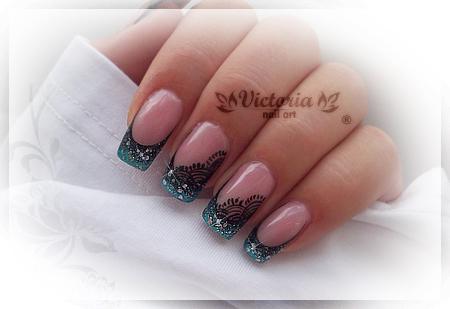 Nail art 207 gel nails by chocolateblood on deviantart nail art 207 gel nails by chocolateblood prinsesfo Choice Image